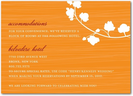 Signature white enclosure cards, Blossom Silhouette