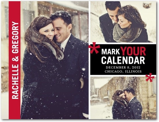 photo of Save the date postcards, Bold Moment