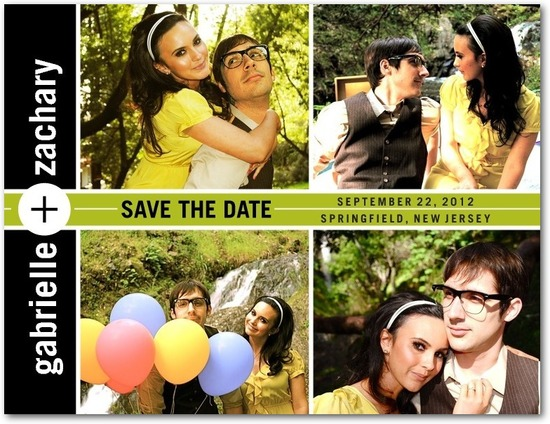Save the date postcards, Adding Up