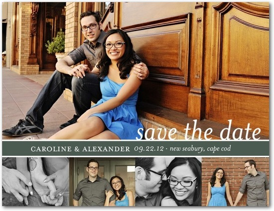 photo of Save the date postcards, Expressive Event