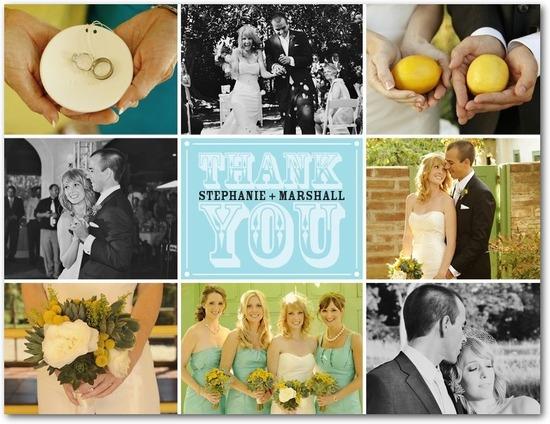 photo of Thank you postcards, Gorgeous Gratitude