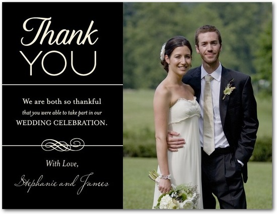 photo of Thank you postcards, Thoughtful Thanks