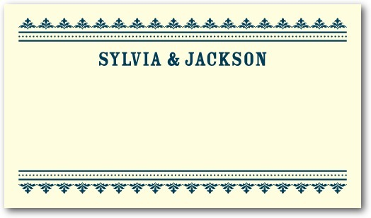 photo of Letterpress place cards, Come Celebrate
