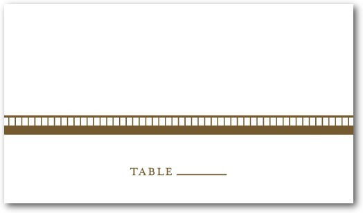 Letterpress place cards, Antique Appeal