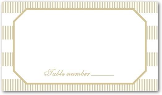photo of Letterpress place cards, Linen Love