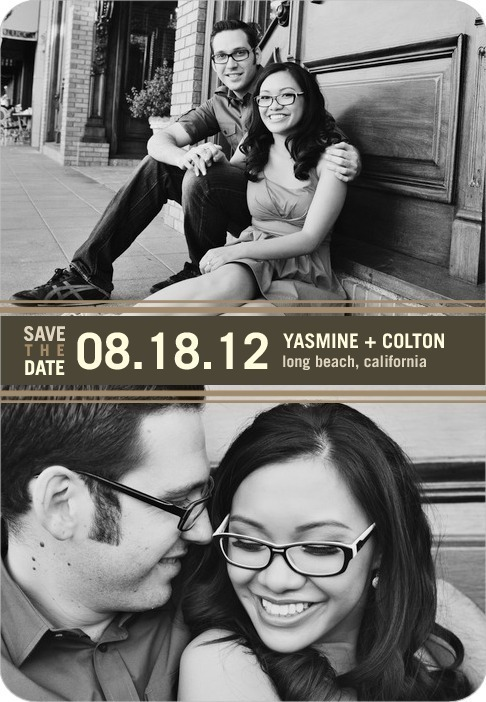 photo of Save the date magnets, Twice As Nice