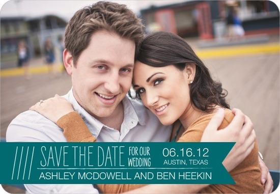 Save the date magnets, Boutique Banner