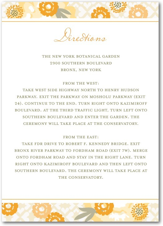 photo of Signature white enclosure cards, Bohemian Summer