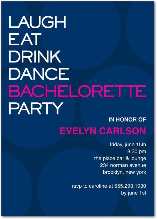 photo of Signature white party invitations, Modern Night