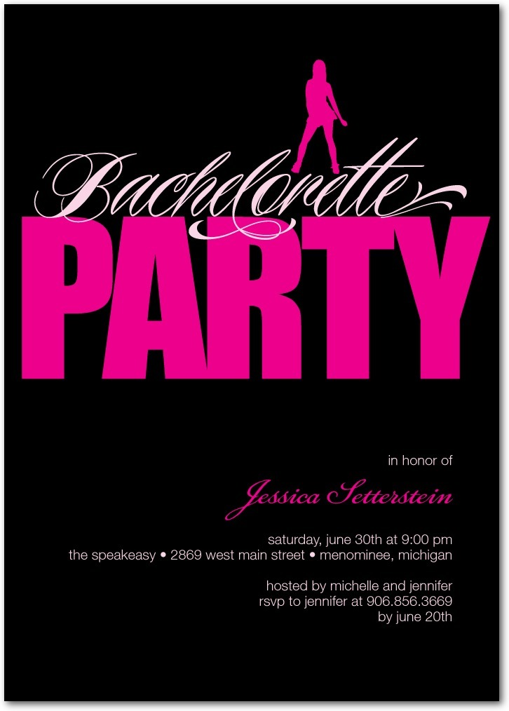 photo of Signature white party invitations, Dance All Night
