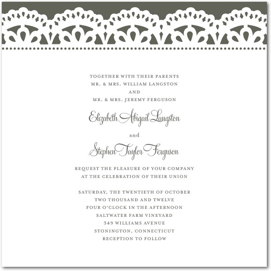 Thermography wedding invitations, Papel Picado