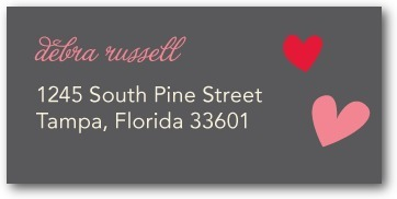 Personalized address labels, Totally Smitten