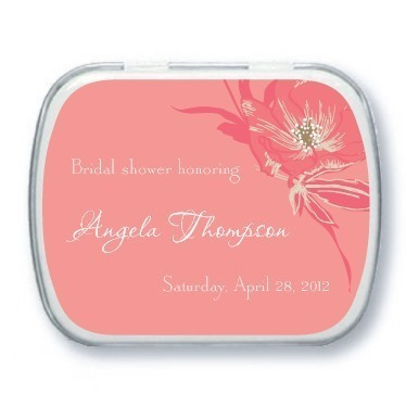 Personalized mint tins, Antique Blooms