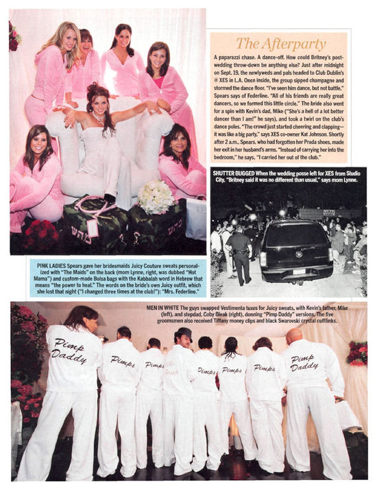 Celebrity Wedding Fun Pimps and Maids Tracksuits