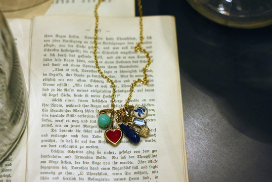 Vintage Charm Necklace to DIY