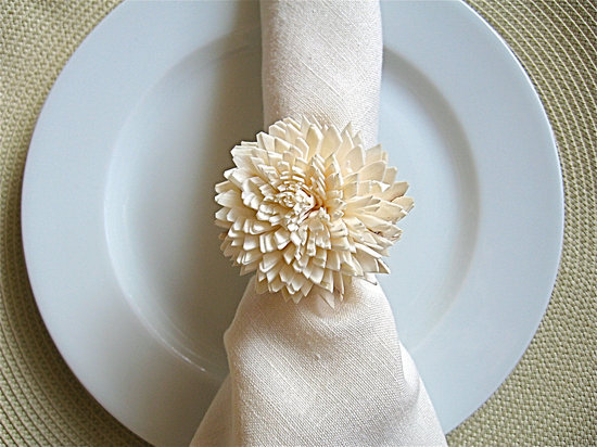 Wedding Reception Place Setting Napkin Ring