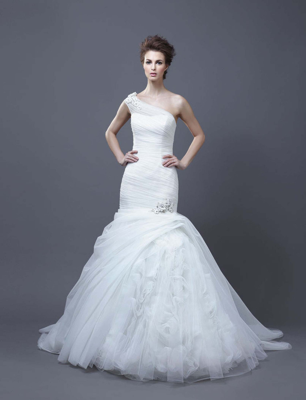 2013 Wedding Dress by Enzoani Bridal Hadara