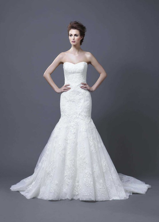 2013 Wedding Dress by Enzoani Bridal Halima