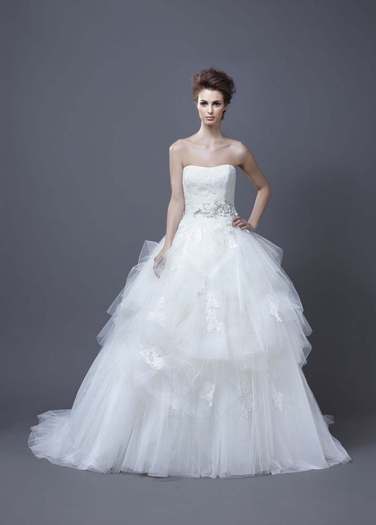 2013 Wedding Dress by Enzoani Bridal Hadil