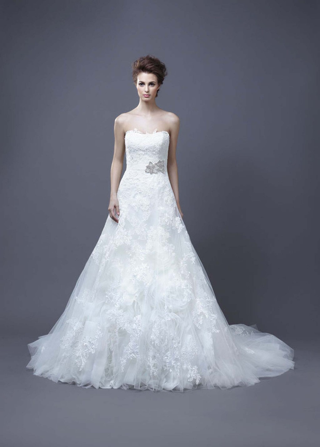 2013 Wedding Dress by Enzoani Bridal Hasina