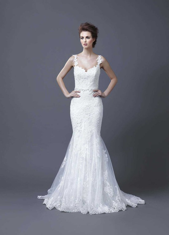 2013 Wedding Dress by Enzoani Bridal Hanako