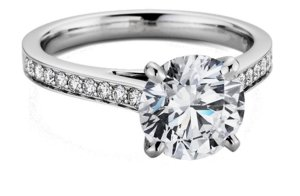 photo of 10 Exquisite In Every Way Engagement Rings from Blue Nile