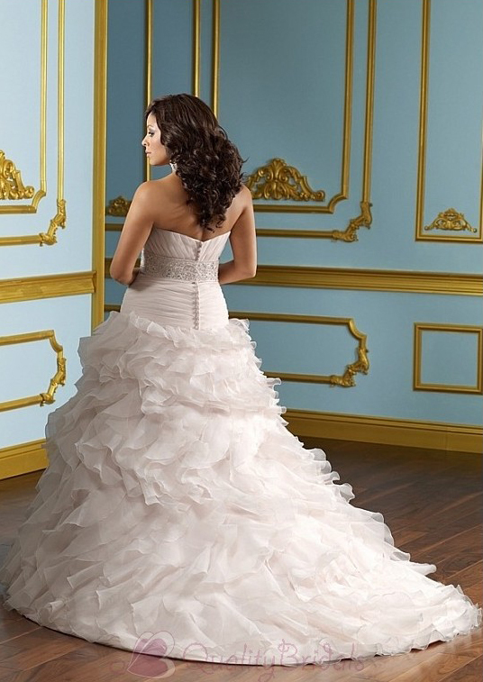 Glamorous-Organza-A-line-sSweetheart-neckline-Plus-Size-Wedding-Dress-W2092