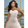 Glamorous-organza-a-line-sweestheart-neckline-plus-size-wedding-dress-w2092.square