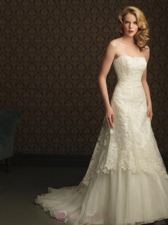 Ivory-Lace-and-Tulle-Applique-Beaded-Formal-Unique-Wedding-Dresses-W1256