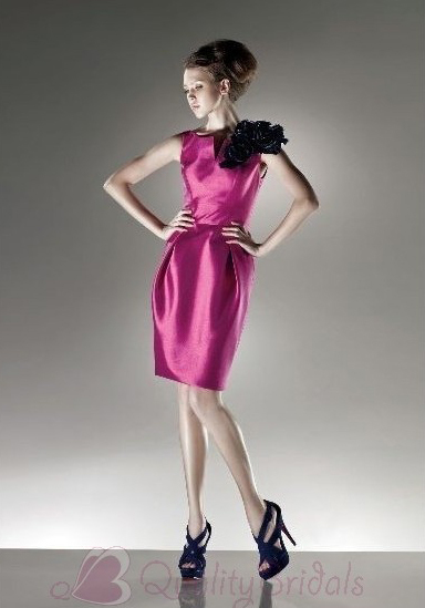 Strapless-Bateau-Short-Taffeta-Prom-Dress-P3090