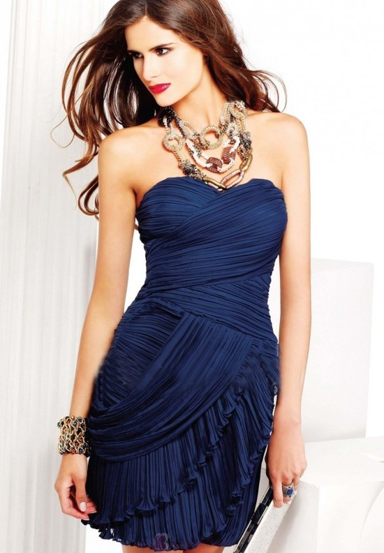 Strapless-Sweetheart-Sheath-Short-Chiffon-Cocktail-Dress-P3098