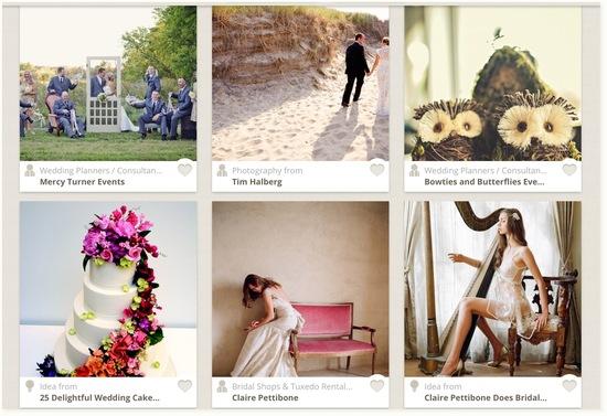 photo of OneWed iPad Wedding Inspiration App