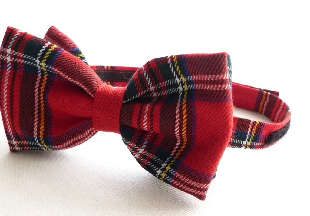 Plaid-bow-tie-for-grooms.full