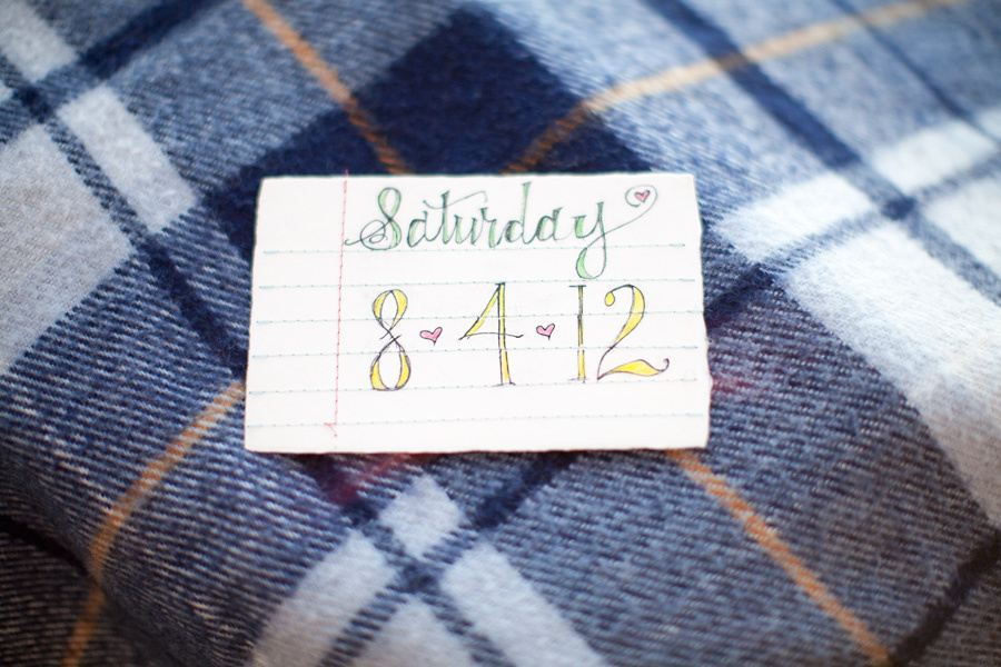 Plaid Wedding Inspiration Save the Date