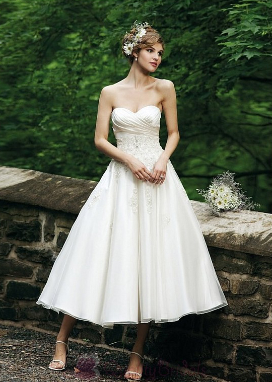 Gorgeous-satin-organza-a-line-sweetheart-neckline-wedding-dress-for-your-spring-wedding-w2025.full
