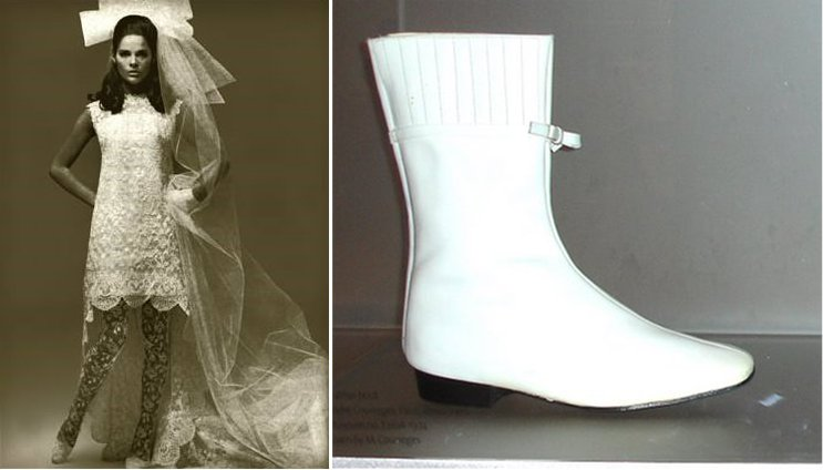 1960s wedding accessories vintage bridal boots