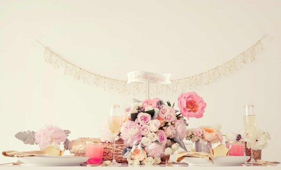 Sweetheart Table for Romantic New Years wedding