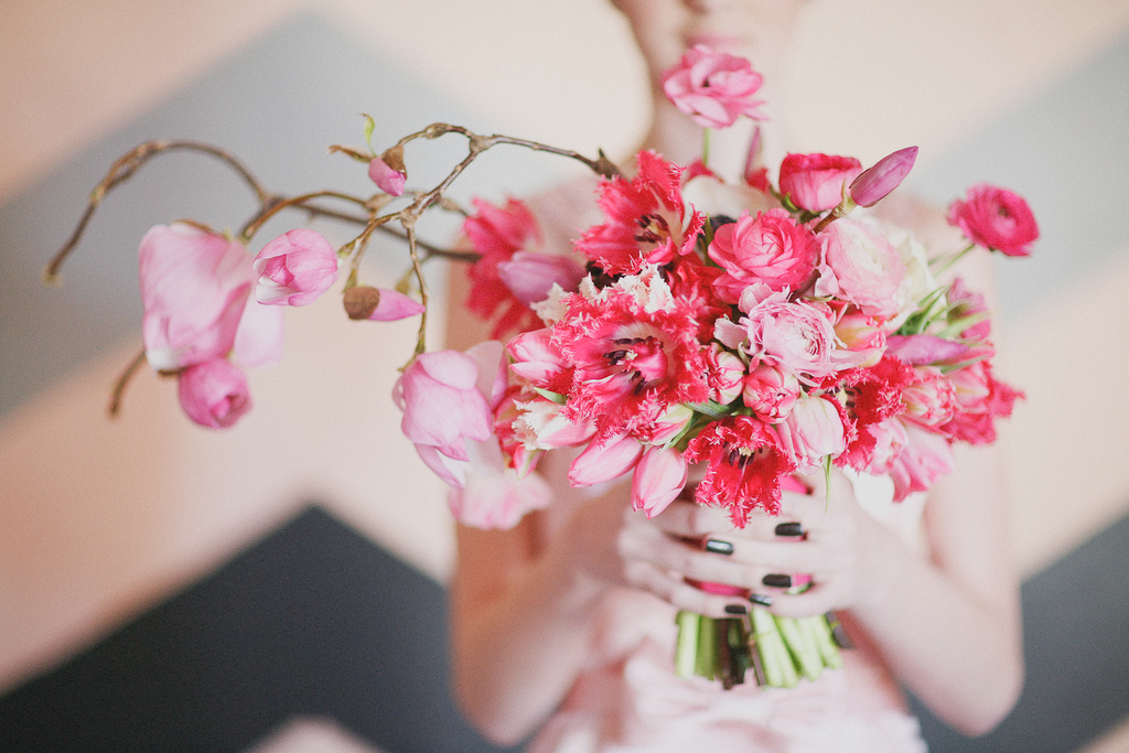 Whimsical-pink-branchy-bridal-bouquet.full