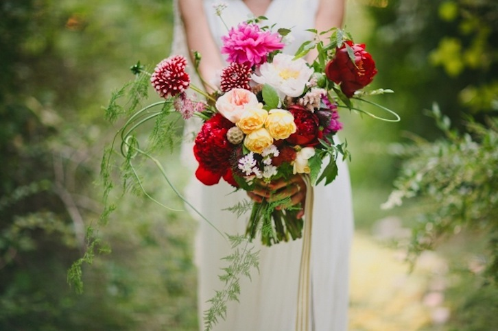 Midsummer Night Bridal Bouquet Romantic Whimsical