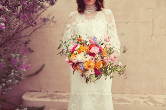 Whimsical Wildflower Wedding Bouquet