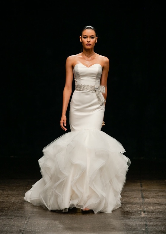 Spring 2013 Wedding Dress Alvina Valenta Bridal Gowns 9307