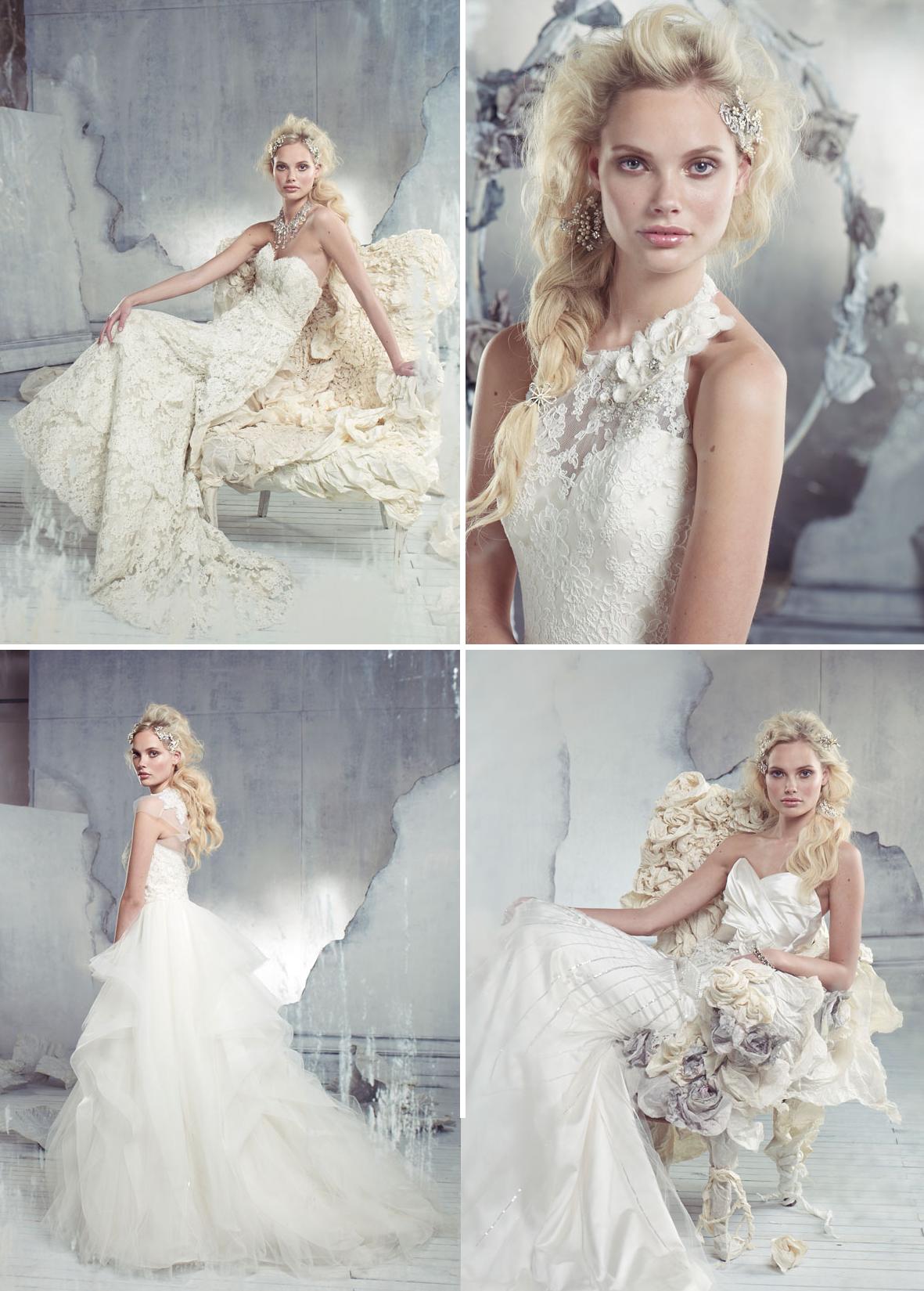 2013 wedding dresses from alvina valenta bridal 2 for Alvina valenta wedding dress