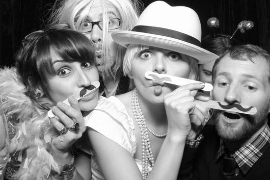 Funny Wedding Photo Booth Moments