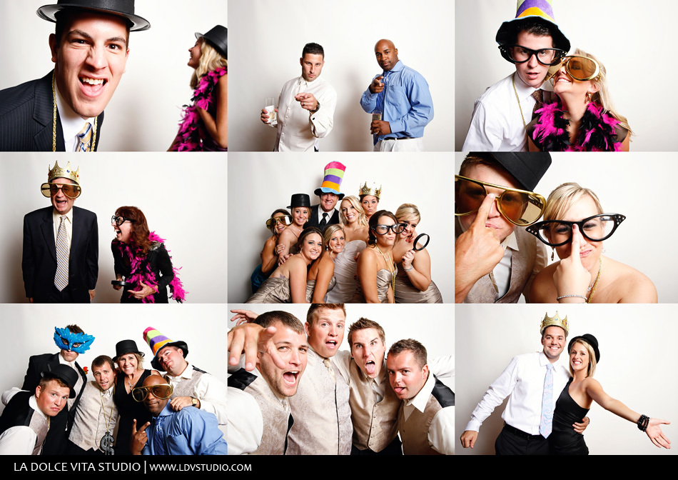 Big-glasses-and-bowas-for-the-wedding-reception-photo-booth.full