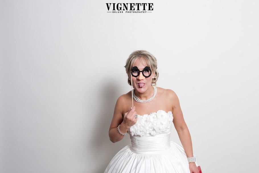 Funny Wedding Photo Booth Moments Goofy Bride
