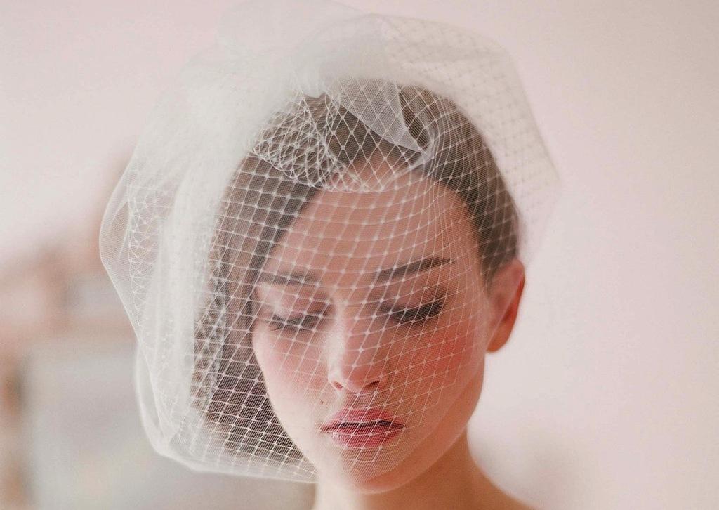 Tulle-and-net-birdcage-bridal-veil.full
