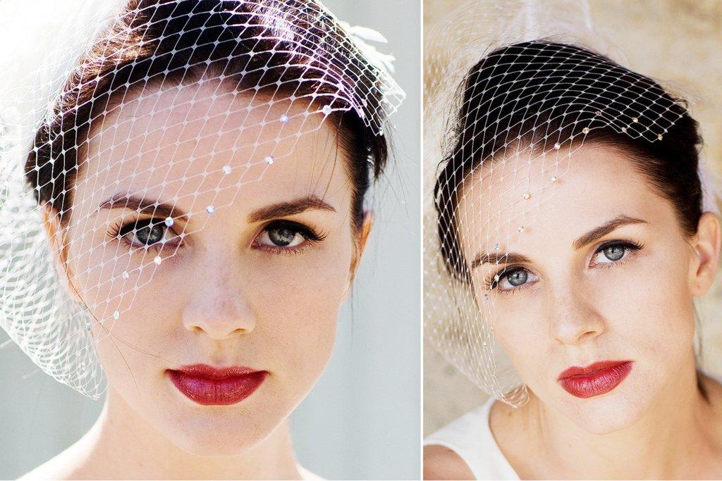Crystal-embellished-birdcage-bridal-veil.full
