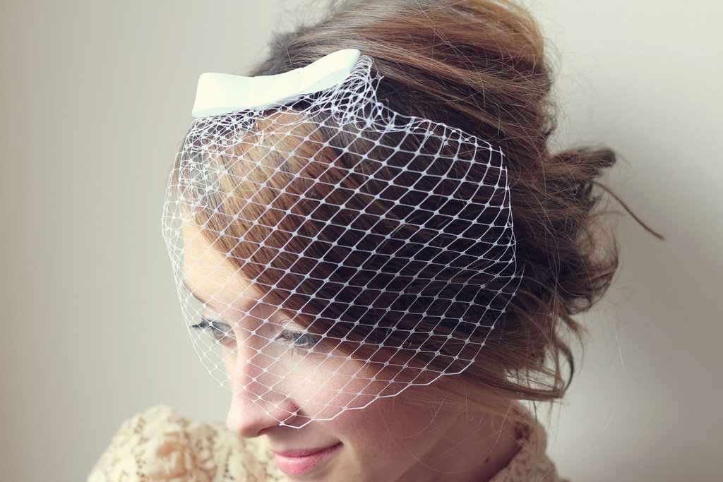 Mini Birdcage Veil with Bow