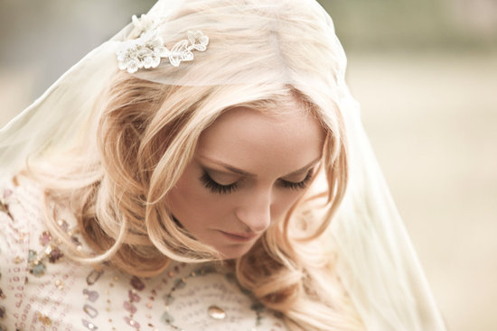 Angelic Waves Wedding Hairstyle