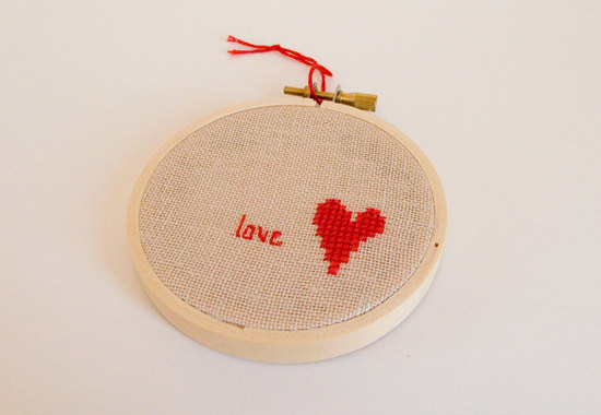 Modern Wedding Decor Stitched Love